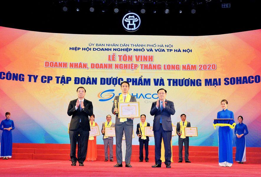 SOHACO VINH DỰ ĐÓN NHẬN CUP THĂNG LONG 2020